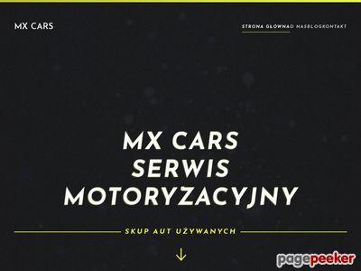Serwis z ogłoszeniami motoryzacyjnymi MX CARS