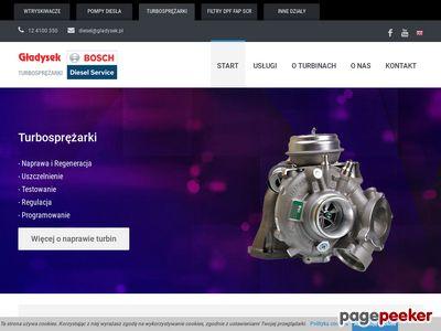 Gładysek | Naprawa i regeneracja turbosprężarek, turbin