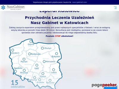 Wszywka alkoholowa Esperal - Katowice