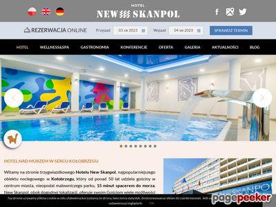 New Skanpol hotel w Kołobrzegu z basenem