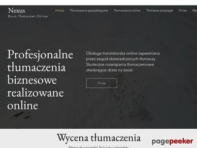 NexusTranslations - tłumaczenia Cieszyn