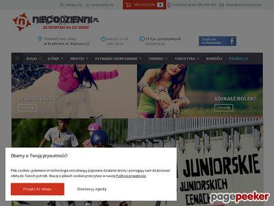 Sklep sportowy - Niecodzienni.pl