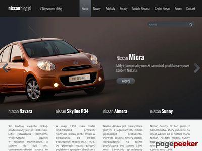 NissanBlog – piszemy o samochodach marki Nissan
