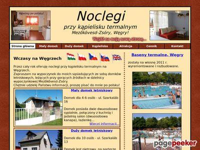 Węgry - noclegi przy kąpielisku termalnym
