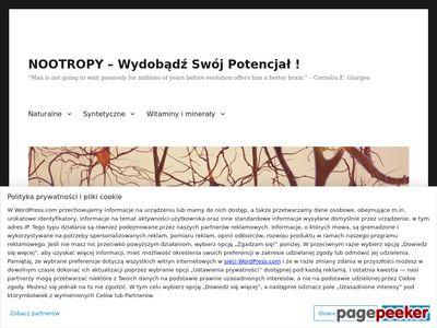 nootropy.wordpress.com - blog o nsturalnych suplementach