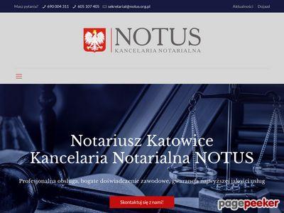 Notus Kancelaria Notarialna M. Wróbel - Konsek, A. Reck Sp. p.