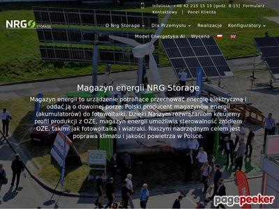 NRG Storage - magazyn energii