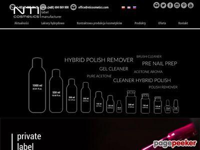 NTICosmetics - private label cosmetics