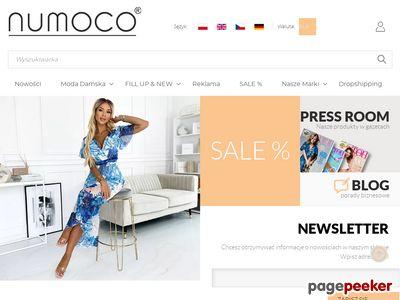 NUMOCO - modnne sukienki w sklepie online - hurtowo