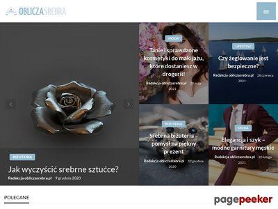 Obliczasrebra.pl - sklep z biżuterią srebrną