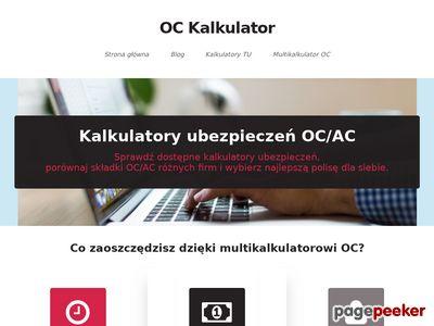 OC kalkulator
