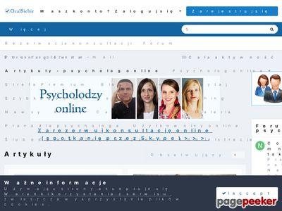 Psycholog online i psychoterapia przez Internet