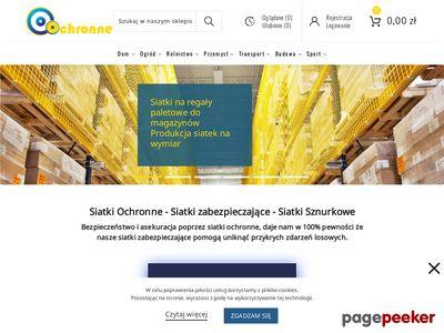 Ochronne.com.pl - siatka ochronna