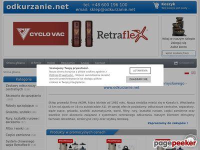 Odkurzacze centralne - www.odkurzanie.net