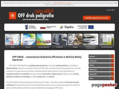 OFF DRUK POLIGRAFIA S.C. druk katalogów bielsko biała