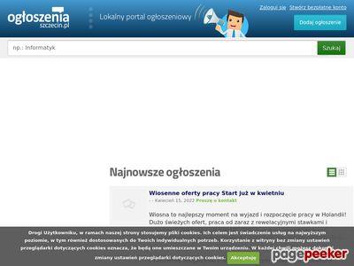 Oferty pracy Szczecin