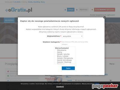 OGratis.pl - darmowe ogłoszenia drobne