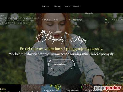 Zakładanie ogrodów ogrodyzpasja.com.pl