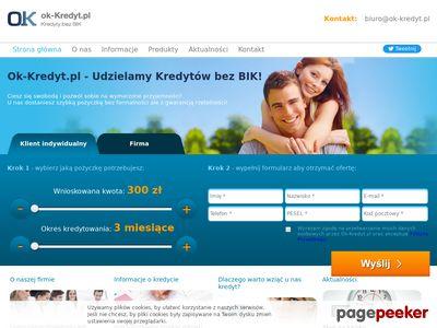 Ok-Kredyt - kredyt bez bik