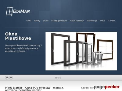 Tanie okna pcv i drewniane wysokiej jakości w mieście Wrocław dzięki BiaMar.