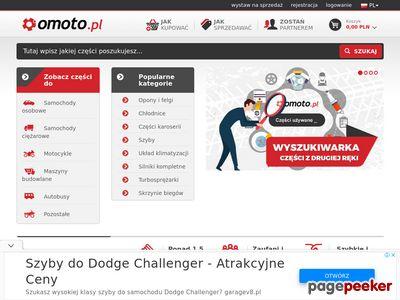 Omoto.pl - platforma części do pojazdów.