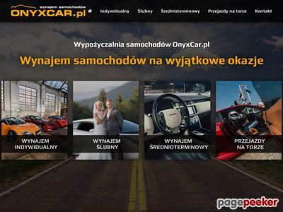 Wypożyczalnia samochodów luksusowych | OnyxCar