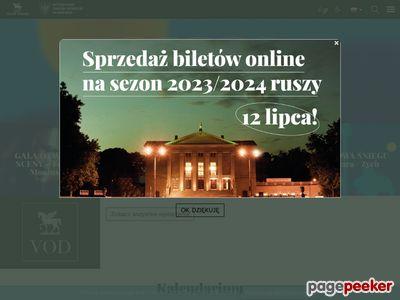 Opera.poznan.pl - Obszerny repertuar teatru