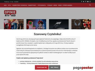 Portal technologiczny opiniertvagd.pl