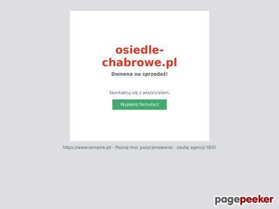 Osiedle Chabrowe - domy na sprzedaż Poznań