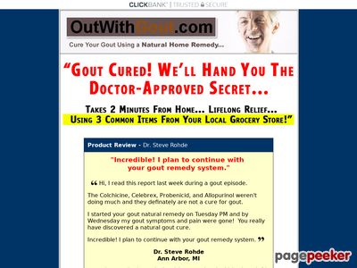 Gout Diet – Gout Treatment – Natural Gout Remedies Cure