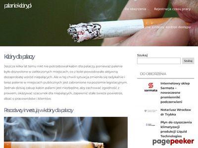 Palarnie-kabiny | palarnie-kabiny.pl
