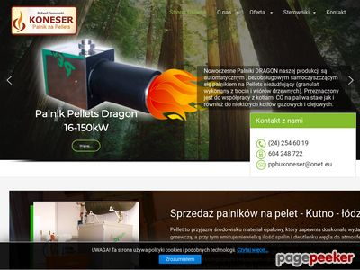 Palniknapeletkutno.pl | sprzedaż palników na pelet