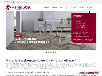 Podłogi Białystok - Panel Styl