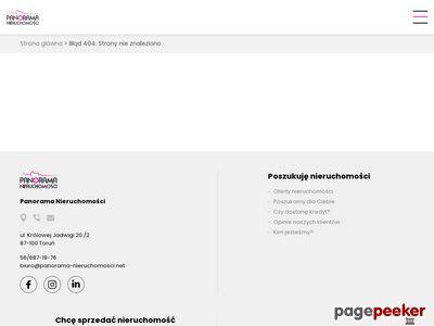 Biuro nieruchomości Toruń Panorama