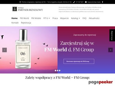 Rejestracja FM World