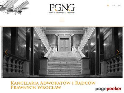 Radca prawny Wrocław - PGNG