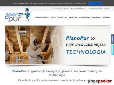 PianoPur pianka poliuretanowa Wrocław