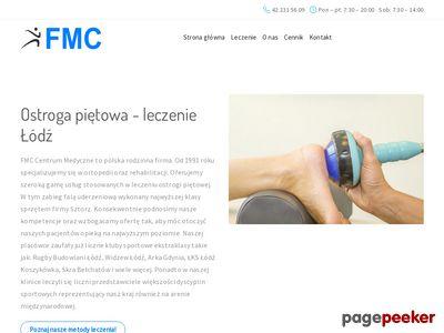 FMC leczenie ostrogi piętowej w Łodzi