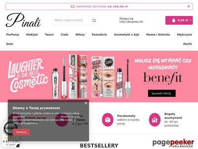 Pinali.pl - Sklep z kosmetykami