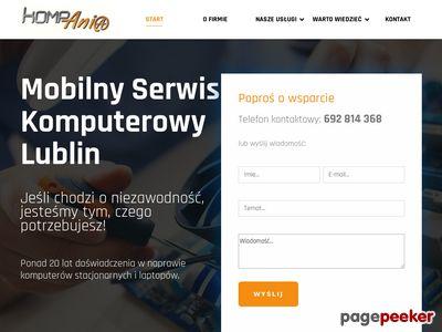 Mobilny serwis komputera Lublin non stop