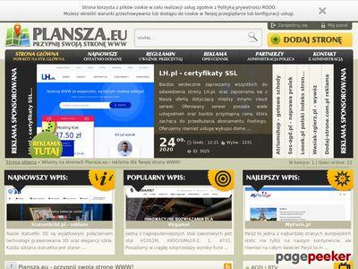Plansza.eu - rejestr portali