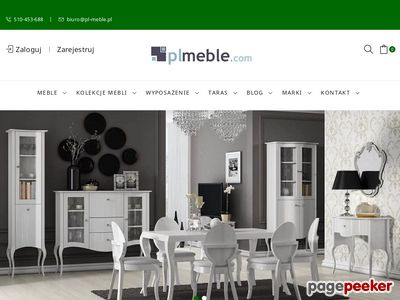 Plmeble.com producent mebli, internetowy sklep meblowy