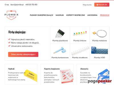Plombix.pl - plomby zabezpieczające