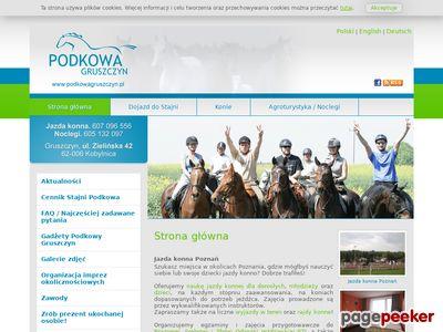 Agroturystyka i nauka jazdy konnej Poznań