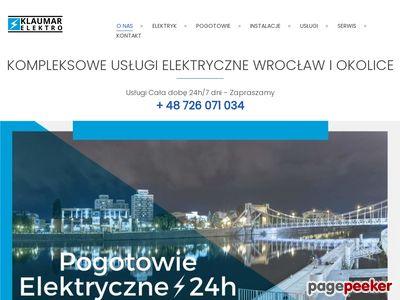 Usługi elektryczne Wrocław