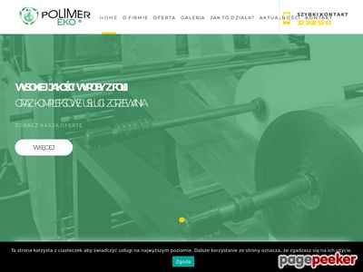 Producent folii stretch Polimer-Eko