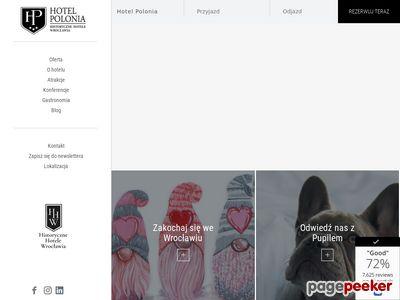 Hotel Polonia z Wrocławia