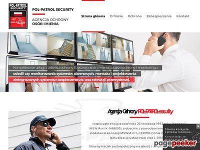 POL-PATROL-security, OCHRONA MIENIA