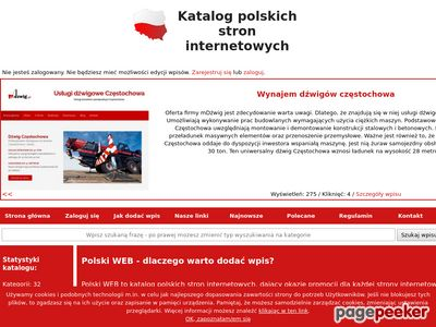 Katalog stron internetowych - Polski Web