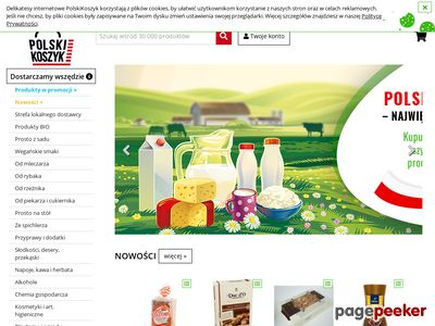 Delikatesy internetowe www.PolskiKoszyk.pl